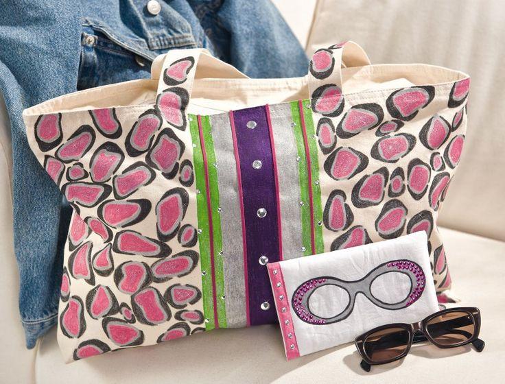 Textil Painter et rivets pour sacs personnalisés   Loisirs créatifs VBS Hobby