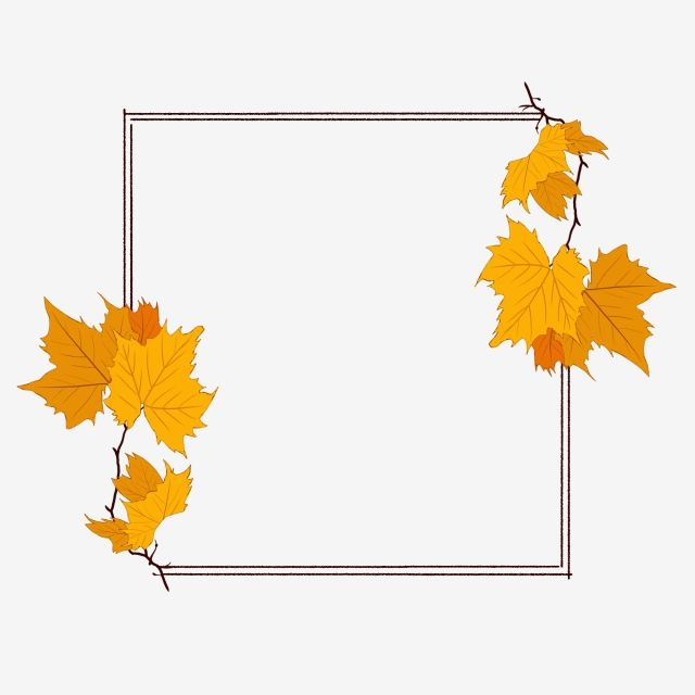 Hand Painted Hand Drawn Plants Plant Border Hand Painted Border Autumn Leaves Maple Leaf Commercially Availab Autumn Leaves How To Draw Hands Watercolor Leaves