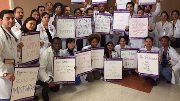 Travel Ban Strands Doctors With Work Visas Outside U.S.
