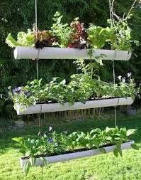Resultado de imagen para jardines verticales con tubos de pvc