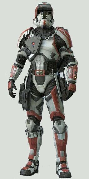 Havoc Trooper (Star Wars) i want the armor... its bad ass... for a plastic boy: