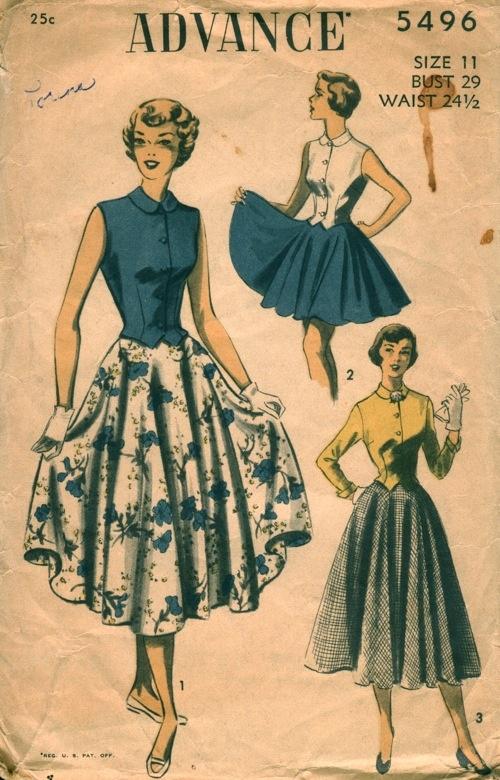 Advance pattern, Vintage Patterns Wiki