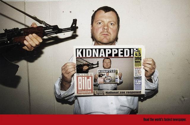 Bild: Very fast newspaper by Creative Criminals, via Flickr