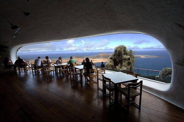 Cafe Mirador, Mirador del Rio, Lanzarote | Flickr: Intercambio de fotos