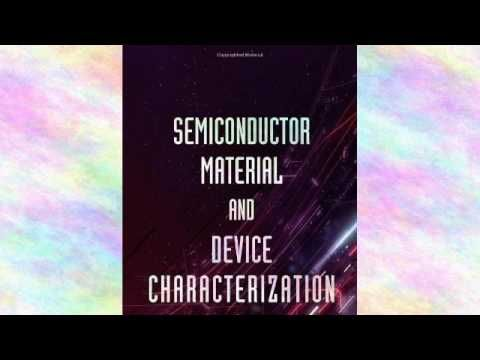 Semiconductor Material and Device Characterization | Ebook - (More info on: https://1-W-W.COM/Bowling/semiconductor-material-and-device-characterization-ebook/)