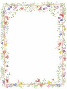 Free Flower Border