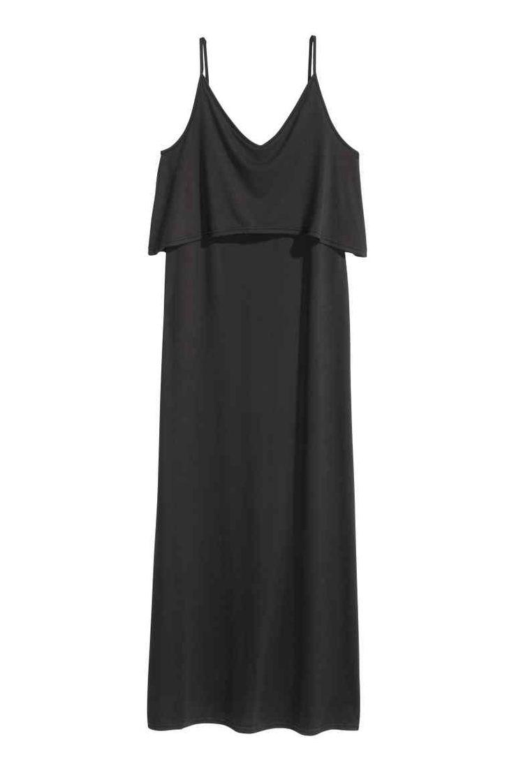 Vestido largo de punto | H&M