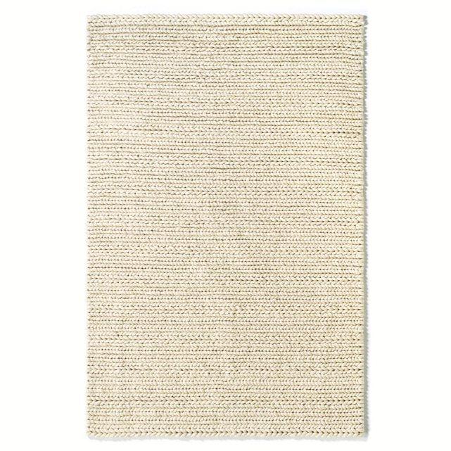 """Le tapis effet maille tricot, Diano. Ce tapis en pure laine sait se faire doux sous vos pieds !    On aime ce tapis pour le côté """"brut"""" et """"nature"""" de son effet maille tricotée.Caractéristiques du tapis en pure laine, effet maille tricot Diano :Très belle qualité : pure laine 3400g/m². Retrouvez la descente de lit Diano assortie sur laredoute.frDimensions du tapis en pure laine, effet maille tricot Diano :Taille 1Largeur : 120 cmLongueur : 170 cmTaille 2Largeur : 160 cmLongueur : 230…"""