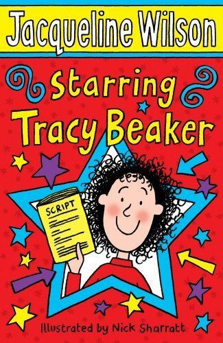 STARRING TRACY BEAKER  By JAQUELINE WILSON  PAPER BACK BOOK GREAT READ