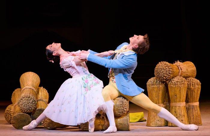 Laura Morera and Vadim Muntagirov in the Royal Ballet's La Fille Mal Gardee. Photo: Tristram Kenton
