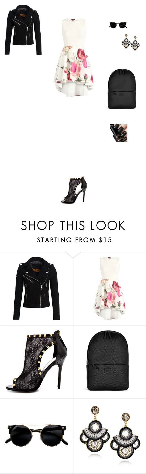 """""""Untitled #2099"""" by anamaria-zgimbau ❤ liked on Polyvore featuring Superdry, Bebe and Rains"""