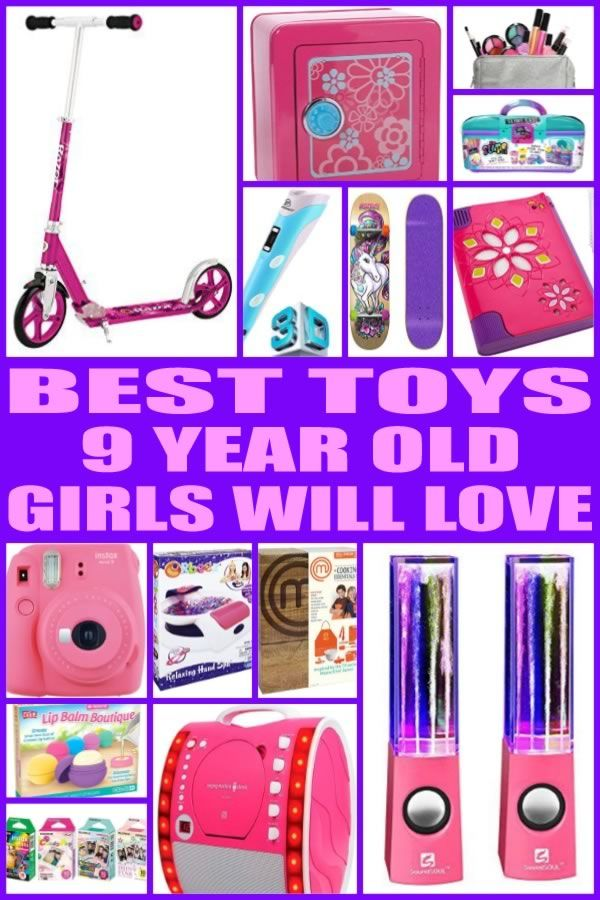 Best Toys For 9 Year Old Girls 9 Year Old Girl Birthday