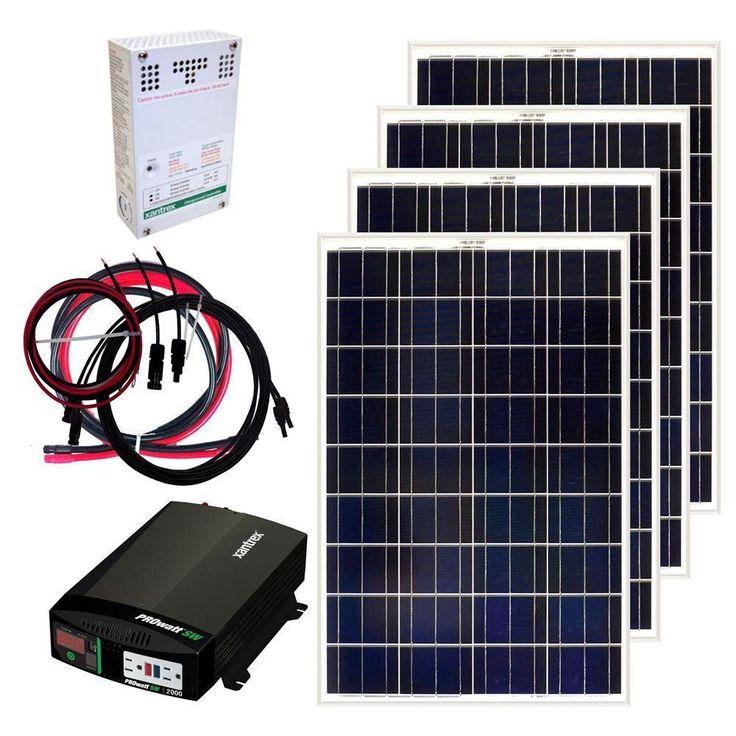Grape Solar 400-Watt Off-Grid Solar Panel Kit