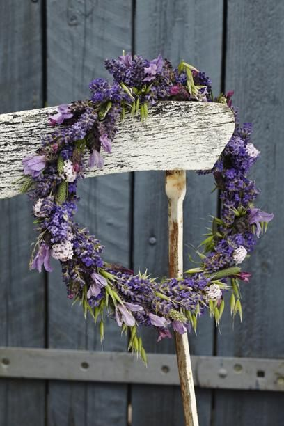 Best 20 Lavender Wreath Ideas On Pinterest Door Wreaths