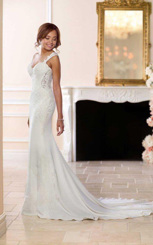 Unique Vintage Wedding Dress | Wedding | Pinterest | Stella york ...