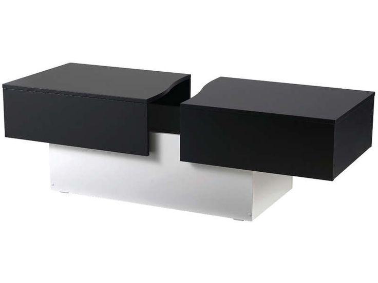 17 meilleures id es propos de table basse pas cher sur pinterest table de - Table basse noir et blanc pas cher ...