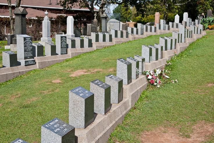 Graves of Titanic dead, Halifax, Nova Scotia