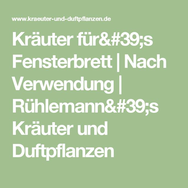 1000+ Ideas About Kräuter Und Duftpflanzen On Pinterest | Pflanzen ... Duftpflanzen Im Garten Blumen Krauter