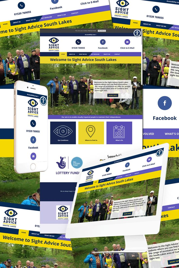 The New Website for Sight Advice South Lakes in Cumbria https://hostcat.co.uk/project/sight-advice-south-lakes/