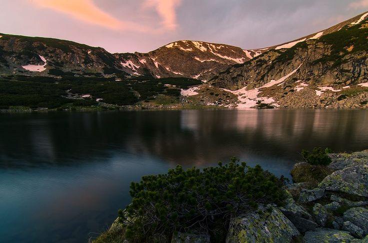 La apus ... - Lacul Gâlcescu (Câlcescu) Munţii Parâng