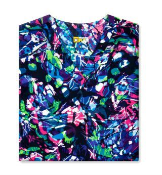6178 Lady Fly By WonderFLEX Women's Printed Scrub Top