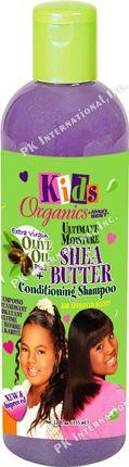 Africas Best Kids Organic Shea Butter Conditioning Shampoo 12oz  PK-A56912
