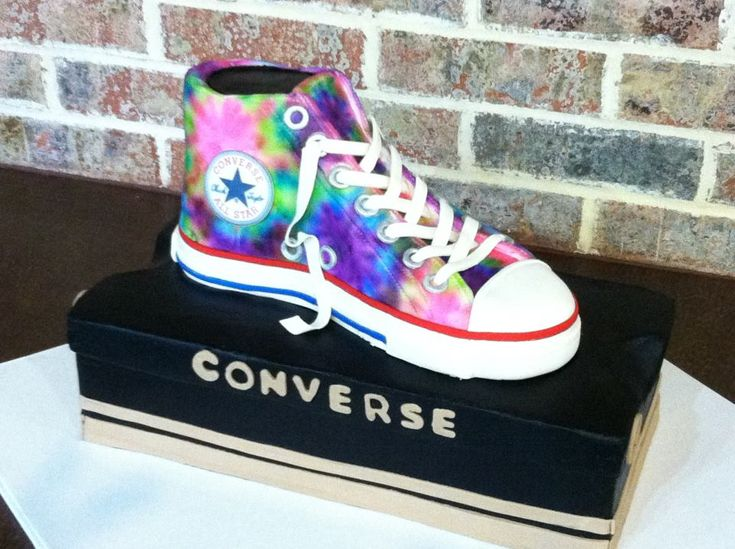 Converse Cake Too Cute Cake Amp Cupcake Designs For