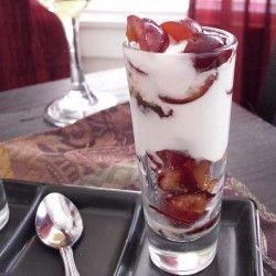 Chilled Cherry Yogurt Smoothie