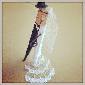 Recicla Inventa: Cómo utilizar en tu boda pinzas de la ropa de forma creativa