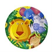 Platos animales selva grandes (8)