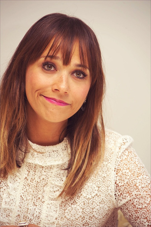 Rashida Jones- she is so cute. Love her on Parks and Rec!