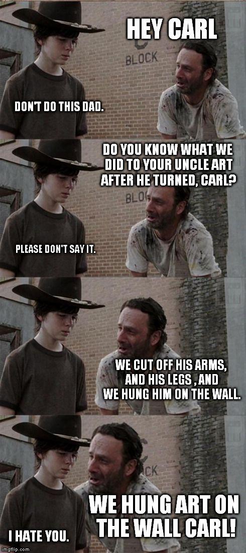 Rick and Carl Long