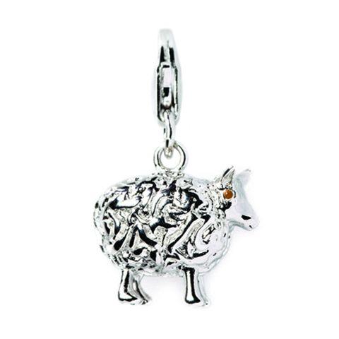 Sheep Sterling Silver Charm By ZALA | Shop New Zealand