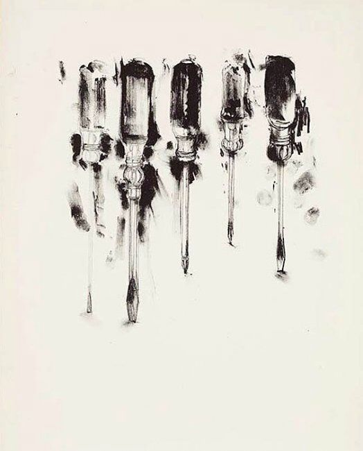 Jim Dine | http://www.artnet.com/artists/jim-dine/                                                                                                                                                     More