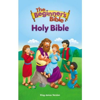 """1. Easy to Read.  2. 20 color illustrations.  3. Complete King James Version!   If your son or daughter is ready for their first """"big kid #Bible,"""" there is no better choice! #children #childrensbooks #christiankids"""