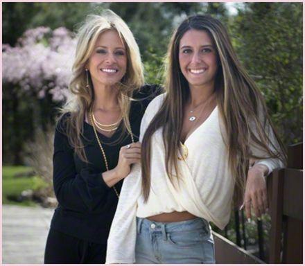 dina manzo & her daughter