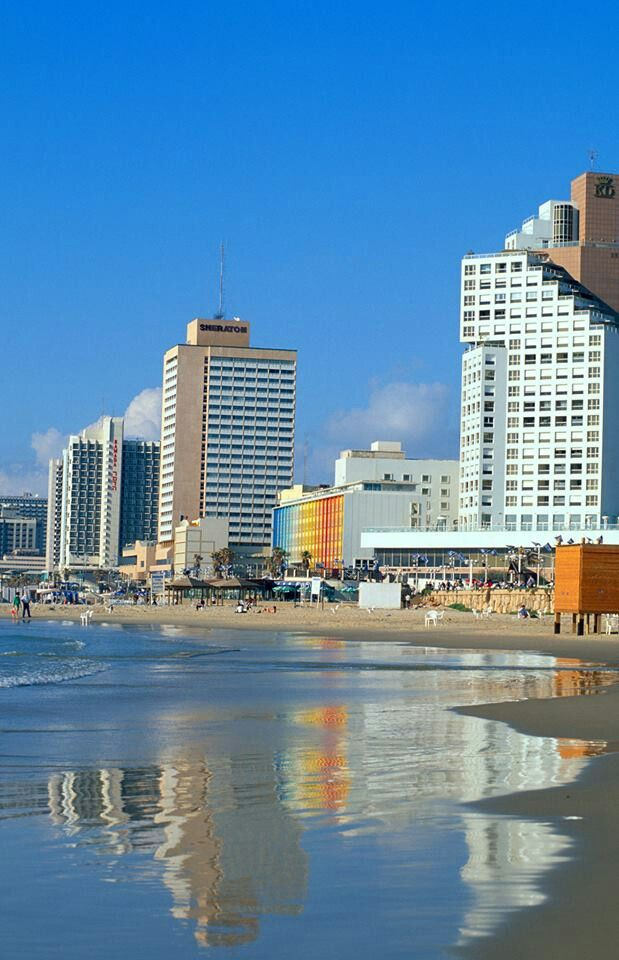 GeorgeousTel Aviv beach. ISRAEL