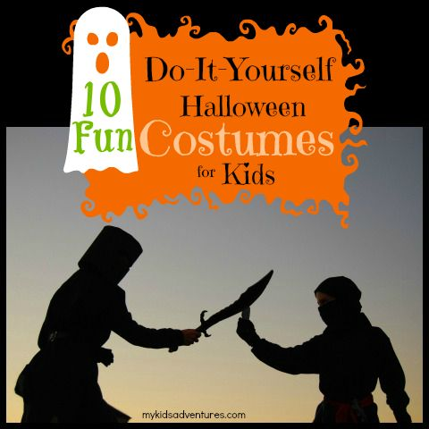 10 amazing do it yourself halloween costumes for kids for Wohnzimmertisch do it yourself