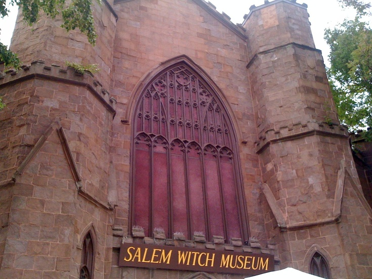 salem witch museum. salem, massachusetts