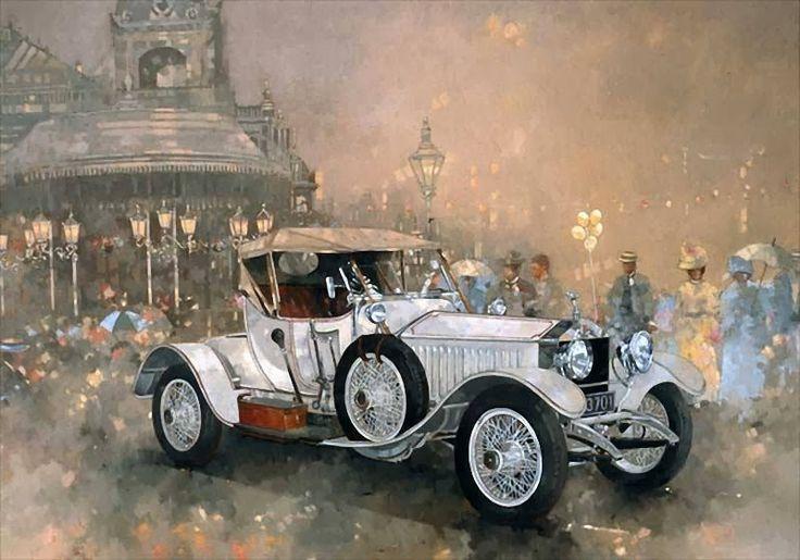 ► Peter Miller ~ Vintage Car painter | Tutt'Art@ | Pittura * Scultura * Poesia * Musica |