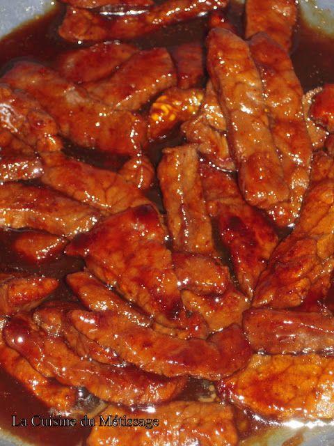 La Cuisine du Métissage: Sauté de boeuf miel- gingembre