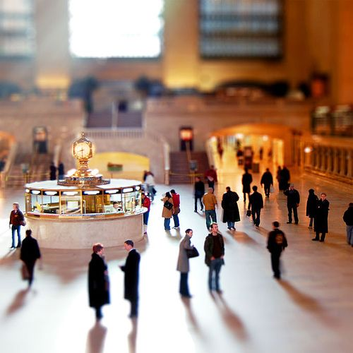 Grand Central Station, Yew York, USA #britairtrans #tiltshift