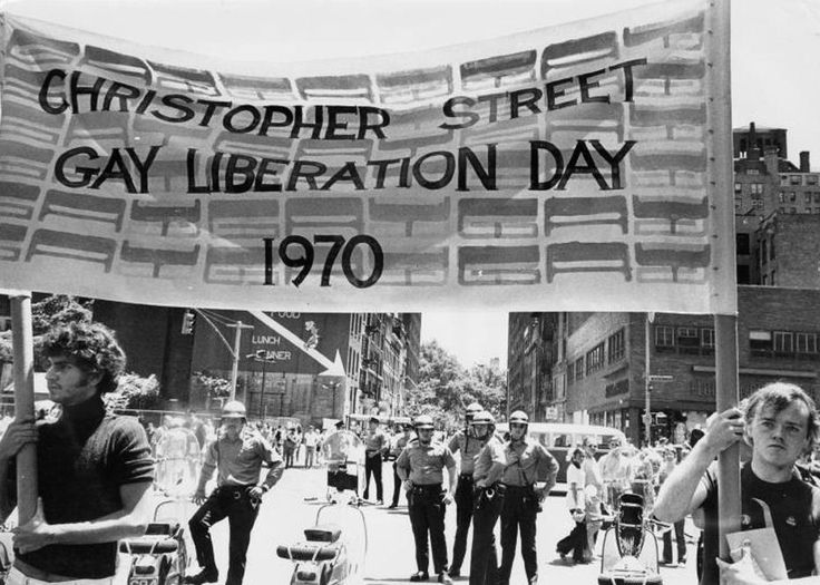 27 june and gay pride 1970