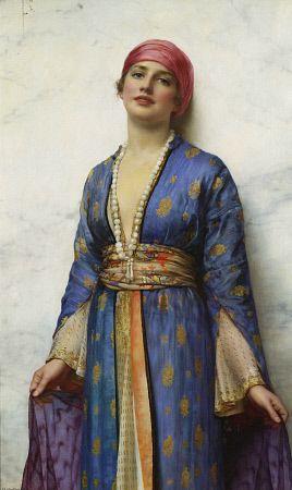 """Yasemeen (1900)"" by artist William Clarke Wontner (1857-1930)."
