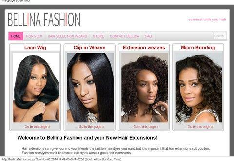 Bellina Fashion - e-commerce site