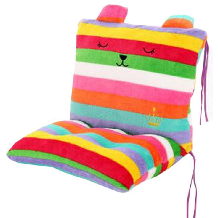 Chair Sofa Cushion Students' Thicker Cushion Office Chair Cushion Green-Red