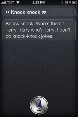 what NOT to ask Siri