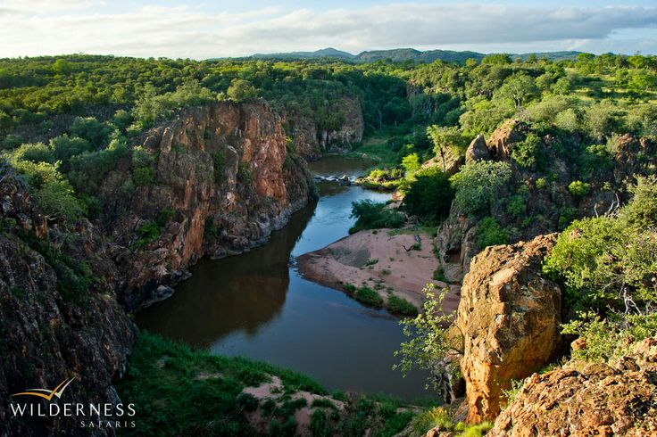 Wilderness Safaris - Lanner Gorge is definitely one of the highlights of any visit to the Pafuri area #Africa #Safari #SouthAfrica