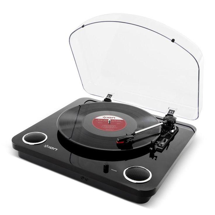 ION Audio Plattenspieler MAX LP Black