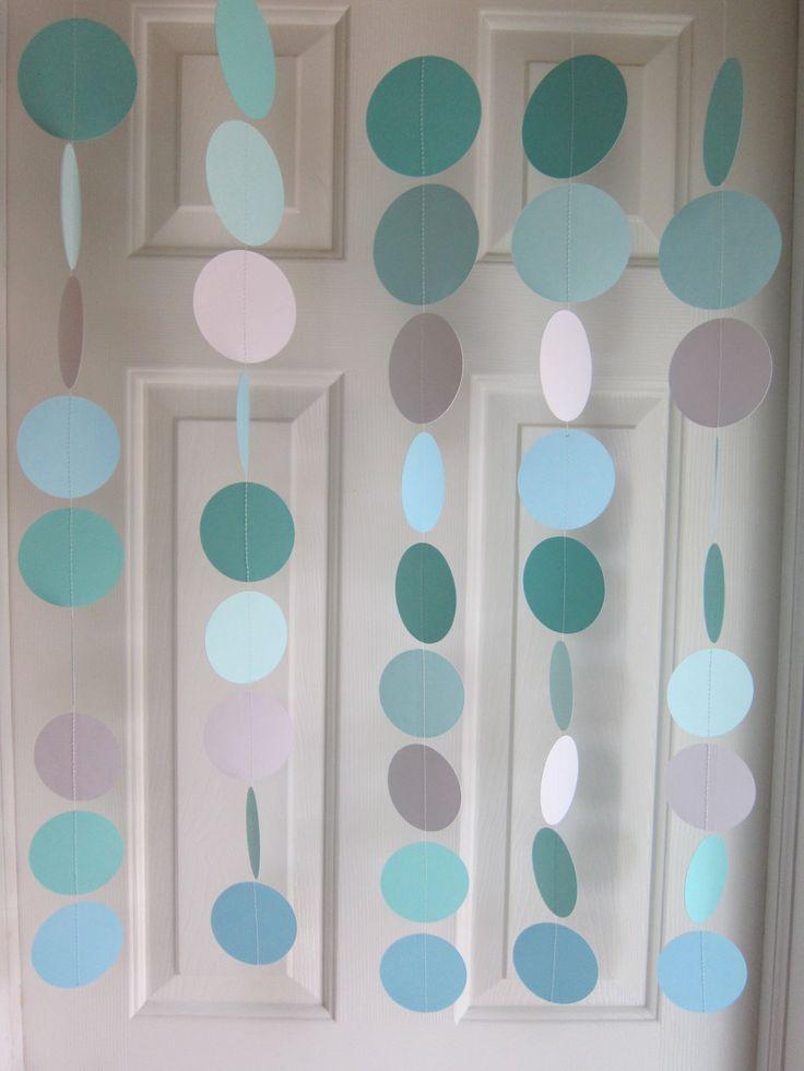 tiffany blue tiffany blue wedding paper garland tiffany baby shower